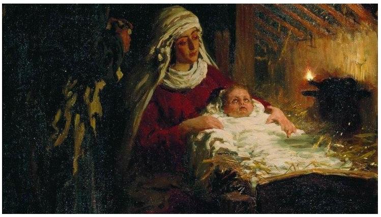 Илья Репин. Рождество Христово