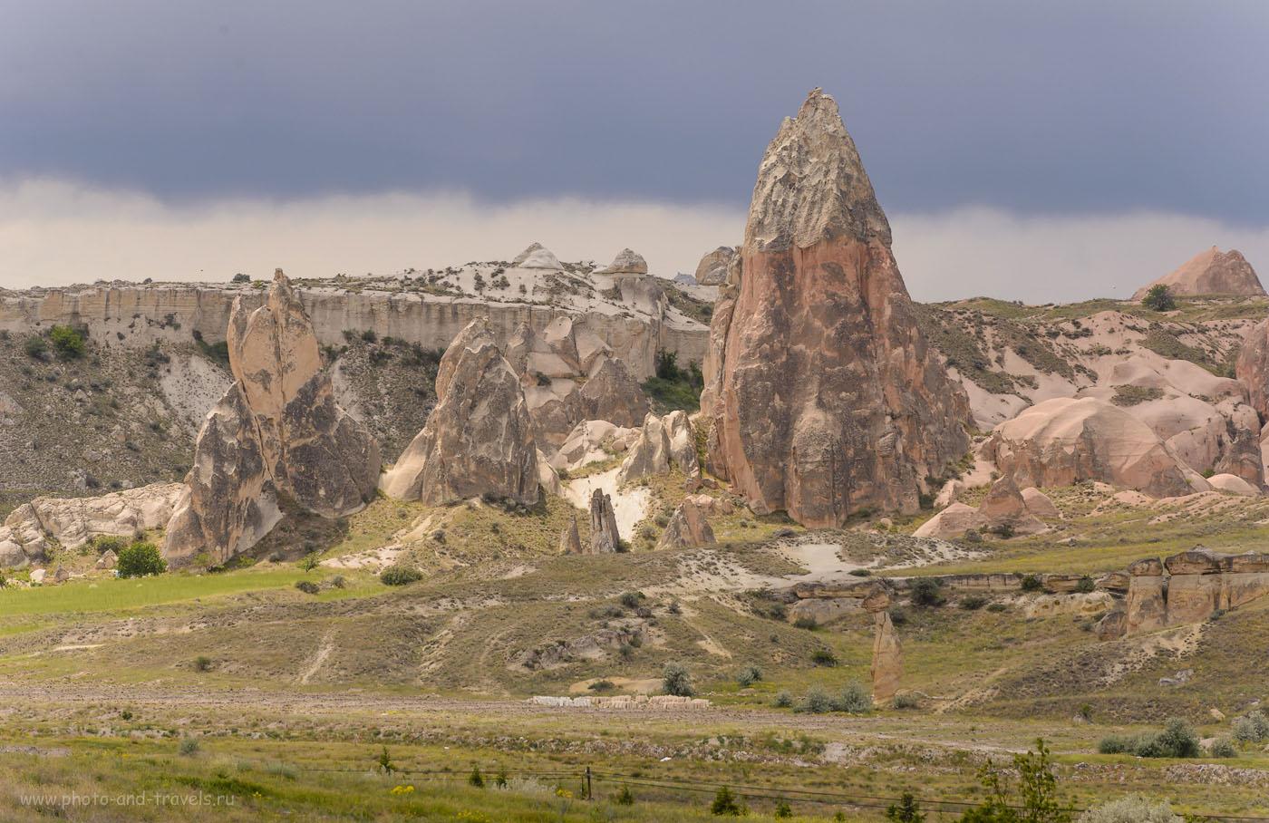 Фотография 18. Ландшафты в Каппадокии. Рассказы туристов о том, как провести отпуск в Турции дикарями. 1/250, 0.67, 8.0, 160, 200.