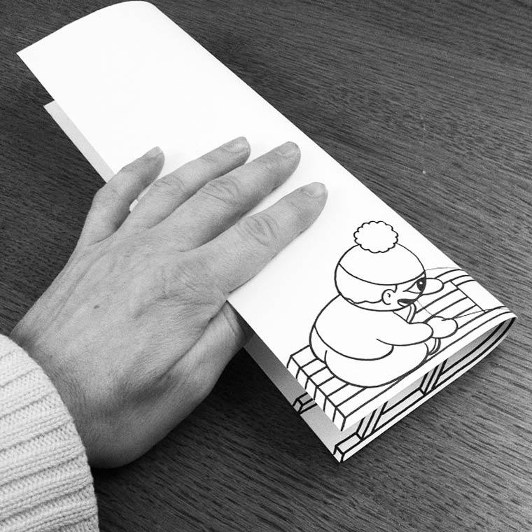 Quand l'artiste HuskMitNavn melange ses illustrations avec la realite
