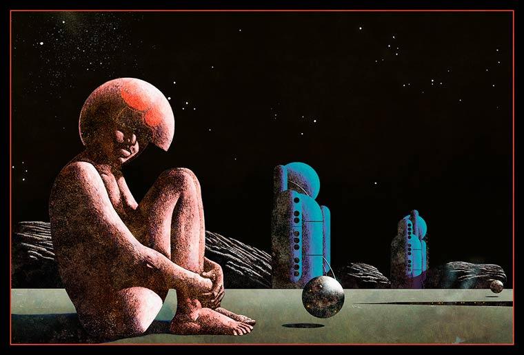 Le monde retro-futuriste de Dan McPharlin