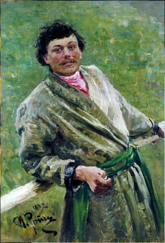 Белорус, 1892. Илья Репин. belorus.jpg