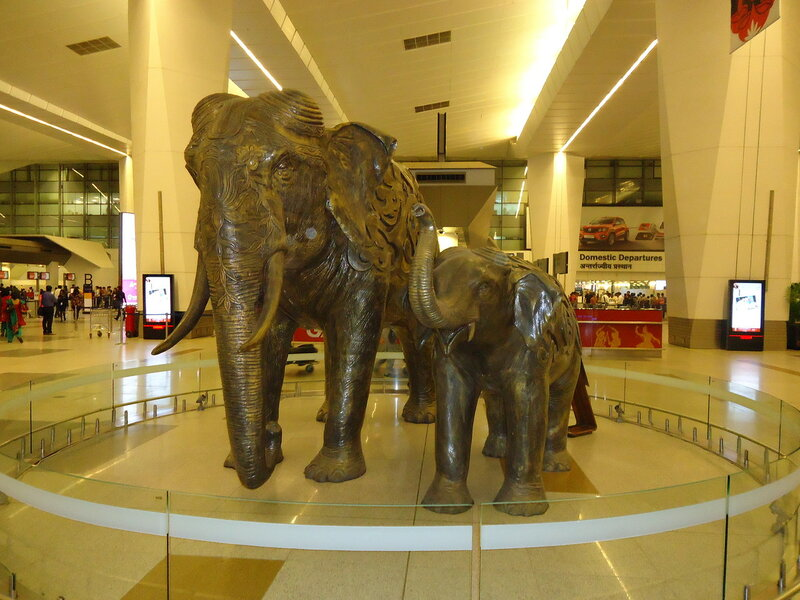 В аэропорту Дели