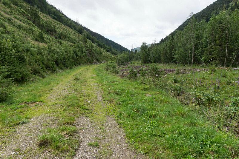 Дорога по долине Дёры