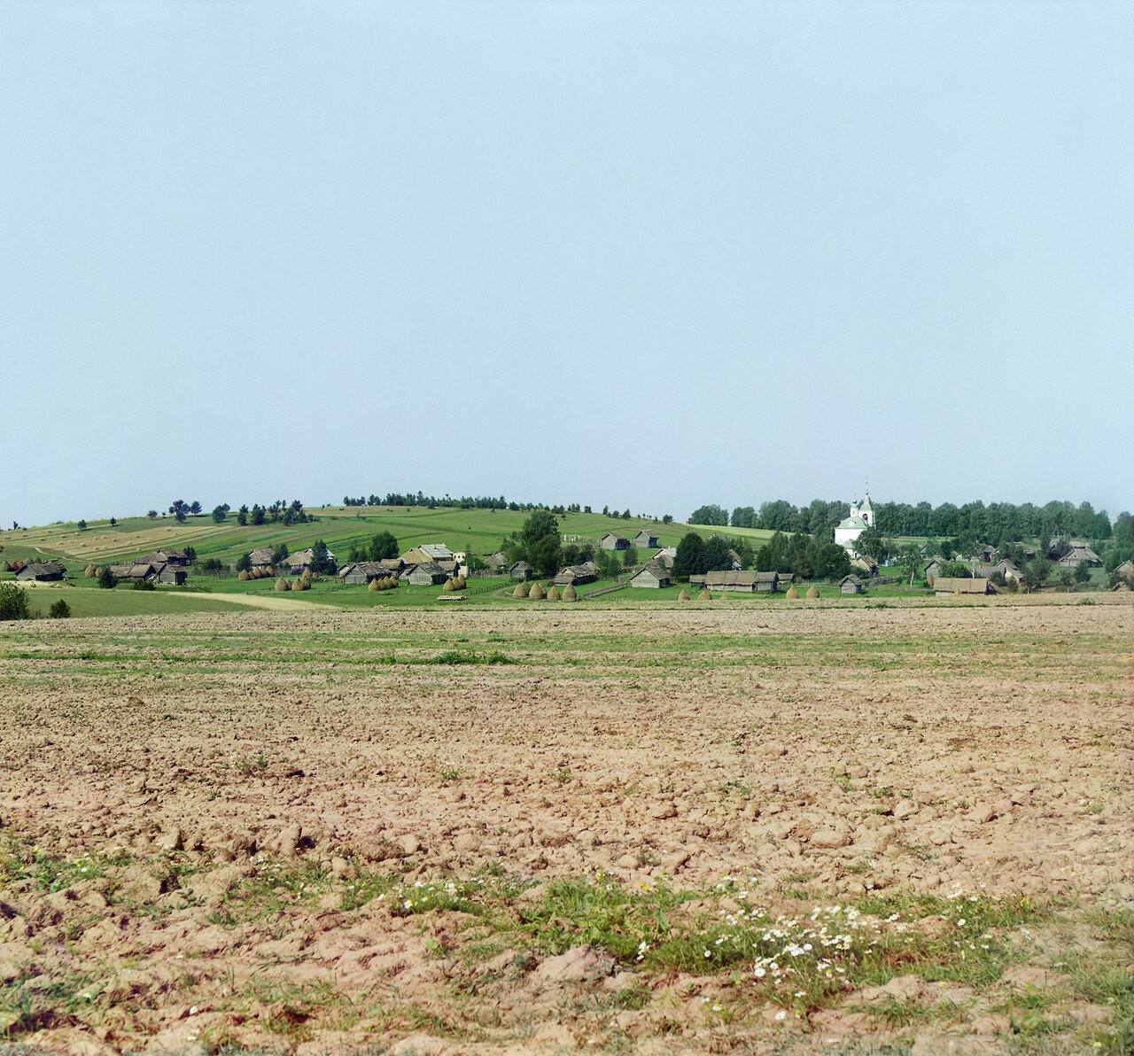 Окрестности Переславля. Село Веськово (в 3-х верст. от Переяславля-Залесского)