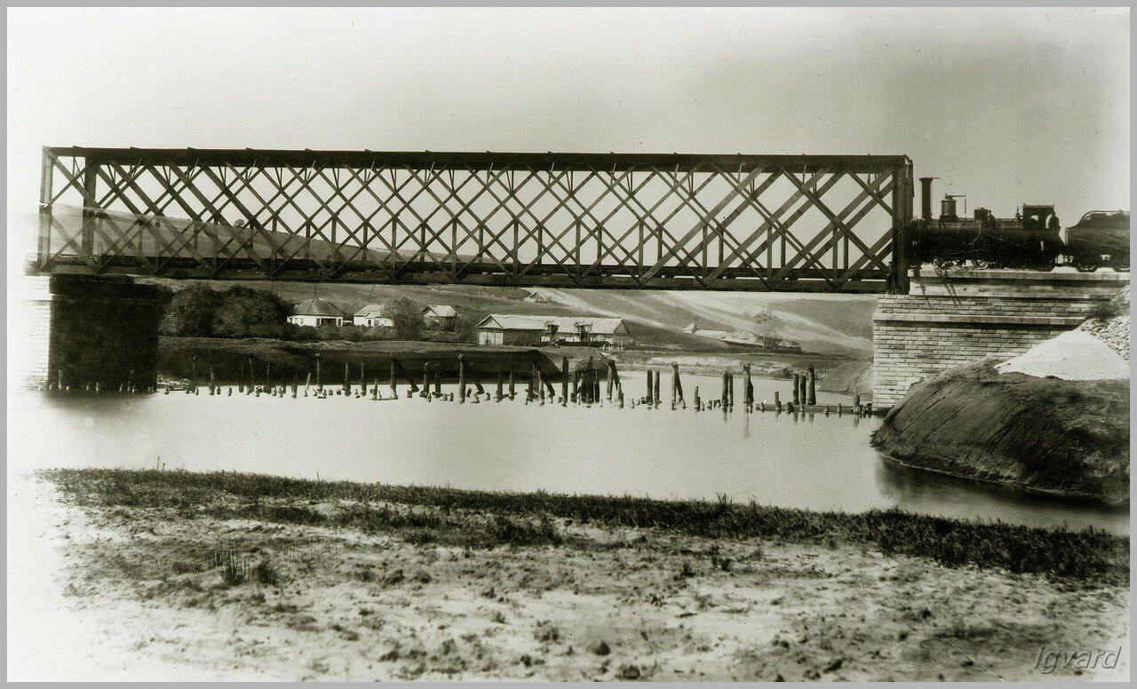 Мост через р. Торец