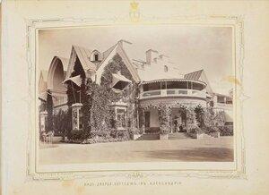 Вид дворца Коттедж в Александрии