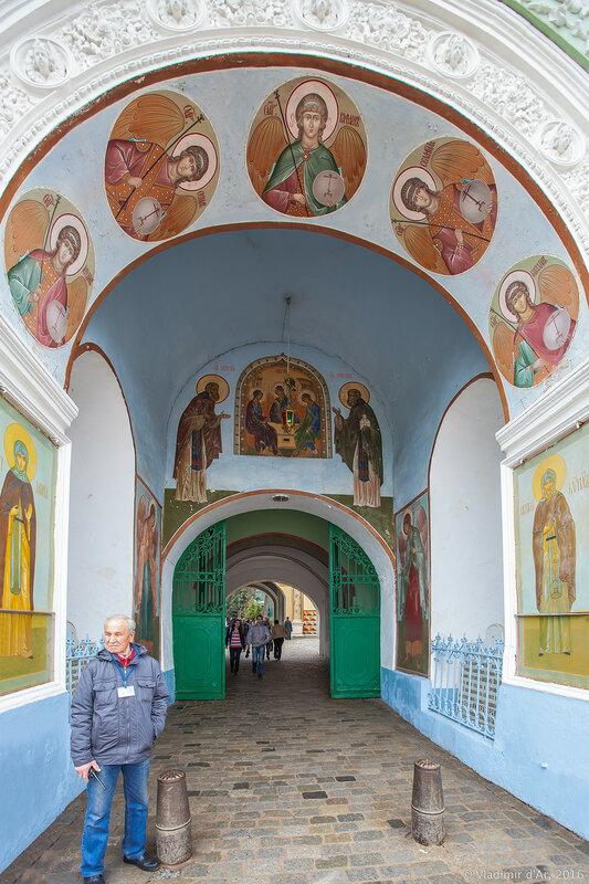 Красные ворота (Святые ворота). Свято-Троицкая Сергиева Лавра.