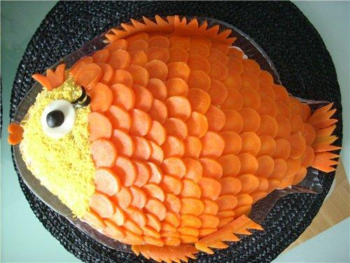 Как сделать украшения на рыбу