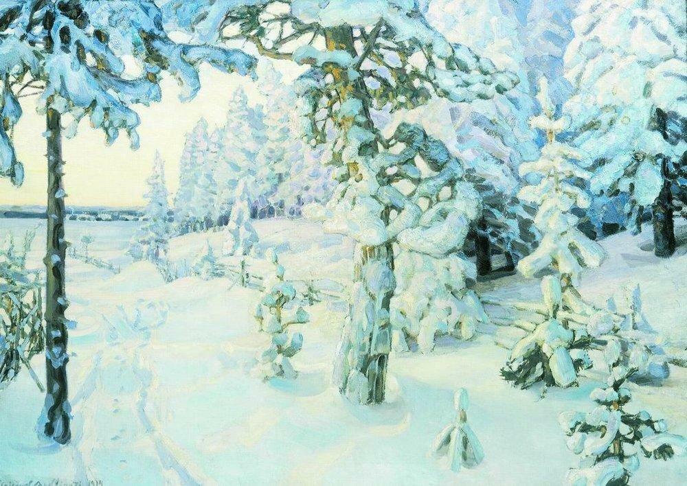 Зимний сон ( Зима ). 1908-1914.jpg