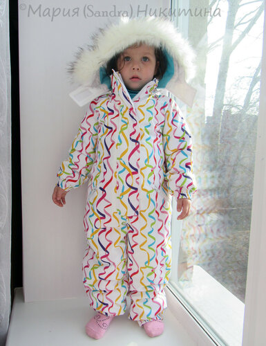 Как сшить теплый зимний комбинезон для ребенка