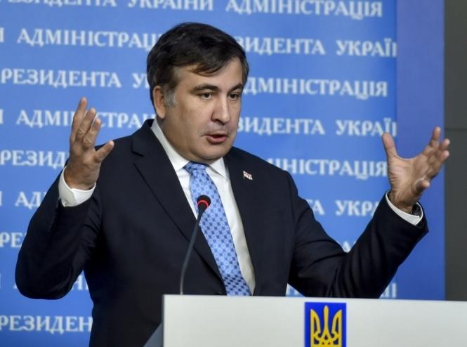 Саакашвили анонсировал смену обвинителя вОдесской области