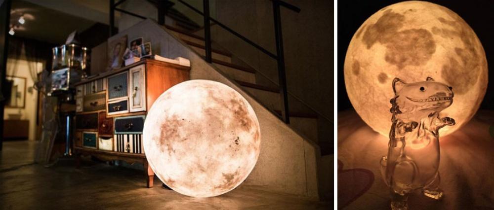 Лампа, которая впустит луну вваш дом
