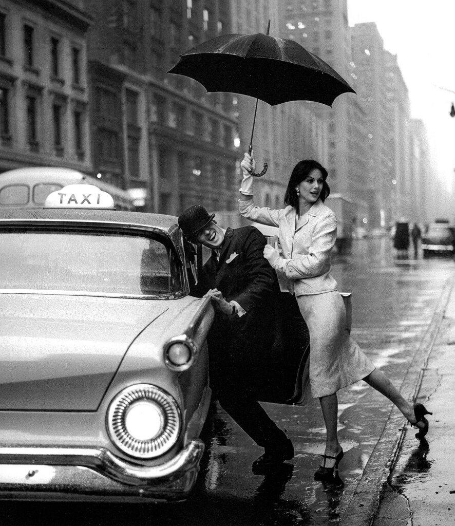Jerry Schatzberg.Anne St. Marie and Fabian Malloy, New York, 1958