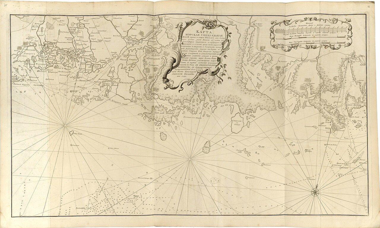 12.  Карта морская специальная