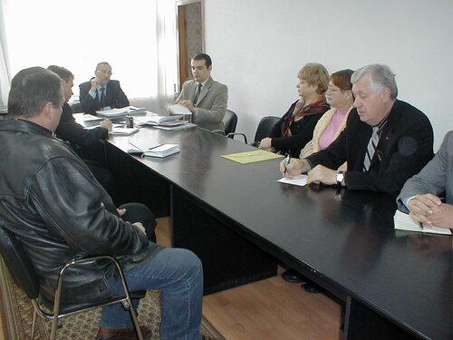 під головуванням голови райдержадміністрації В.В.Кунпана відбулось засідання політичної Ради