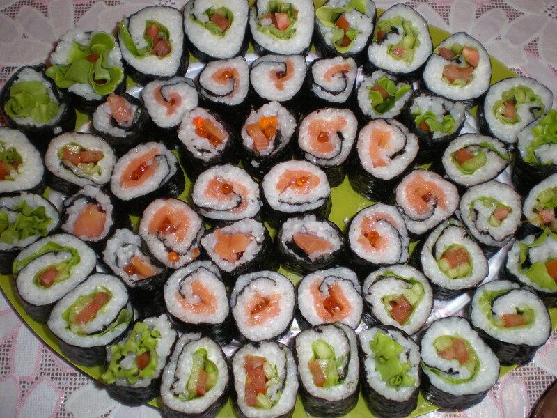 Готовим суши и роллы дома рецепты с видео