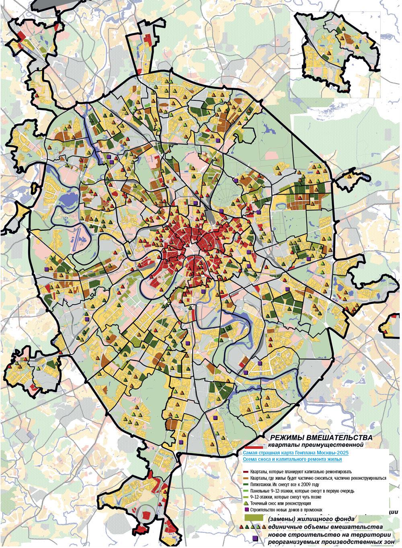 карта-схема района дмитровский (сао)