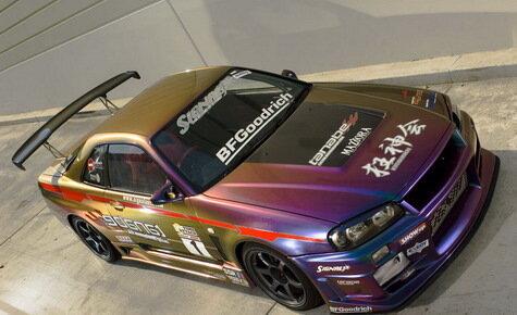 Nissan Skyline R34 и V35 от Signal Auto