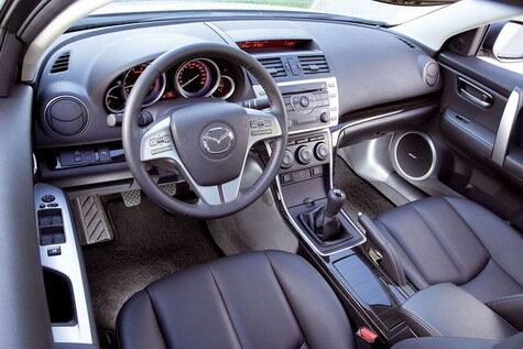Юрий Гейко тестирует Mazda6