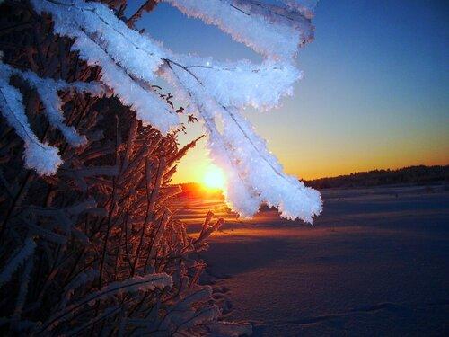 Русская зима-лучшая она!