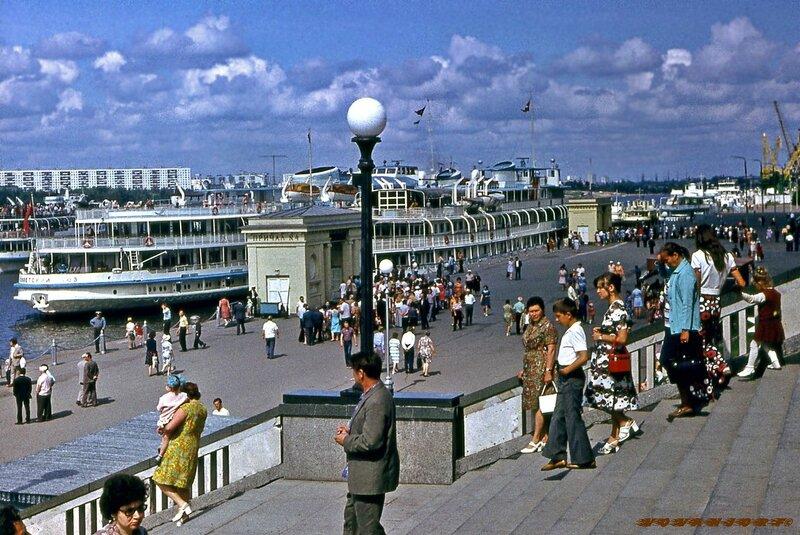 Химкинский речной вокзал 1976 год