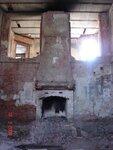 Большой камин в Рыцарском зале.