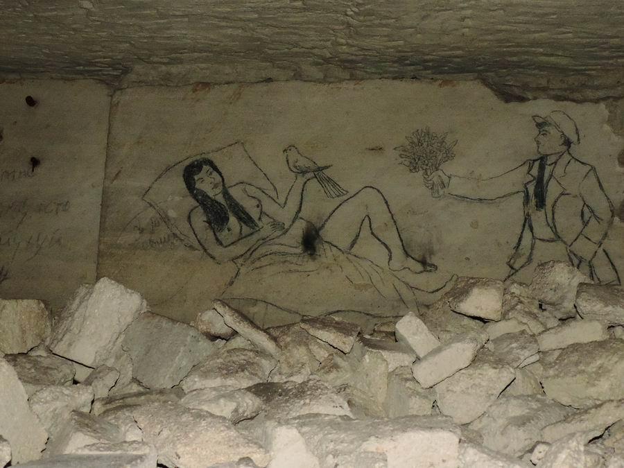 В керченских катакомбах