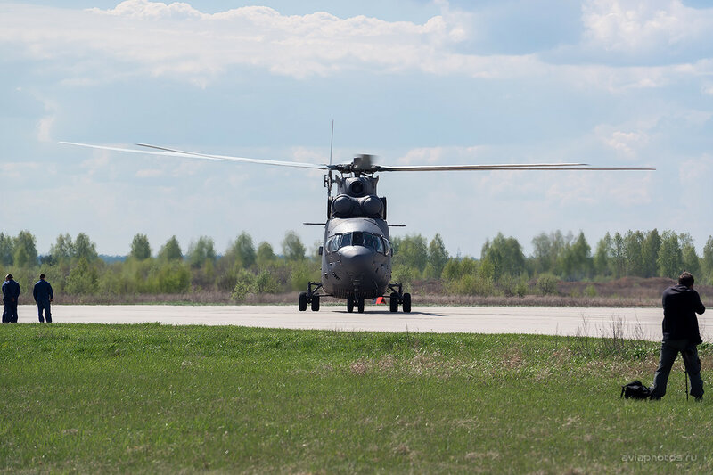 Миль Ми-26 (RF-95573 / 03 желтый) ВКС России D803219
