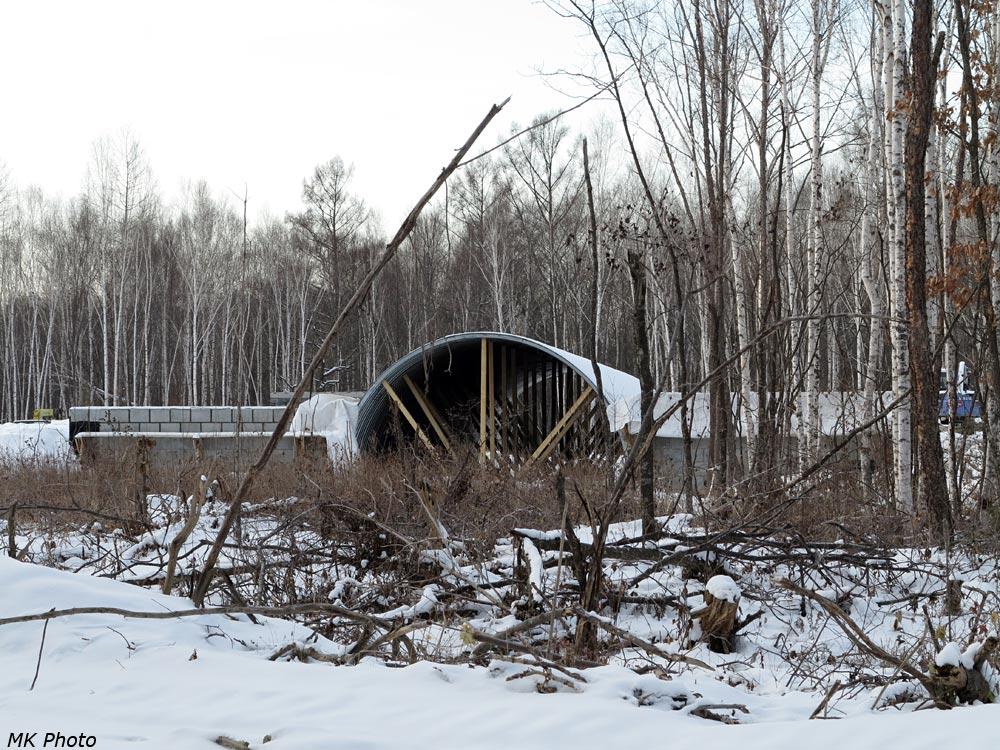 Сооружение мостового перехода