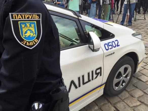 Патрульная полиция Львова задержала пьяного начальника уголовного розыска, - СМИ
