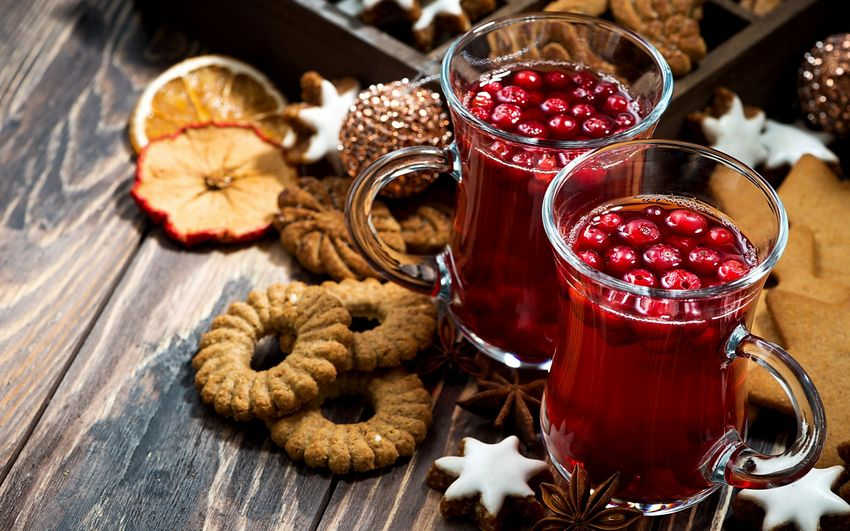 Новогодние угощения, еда