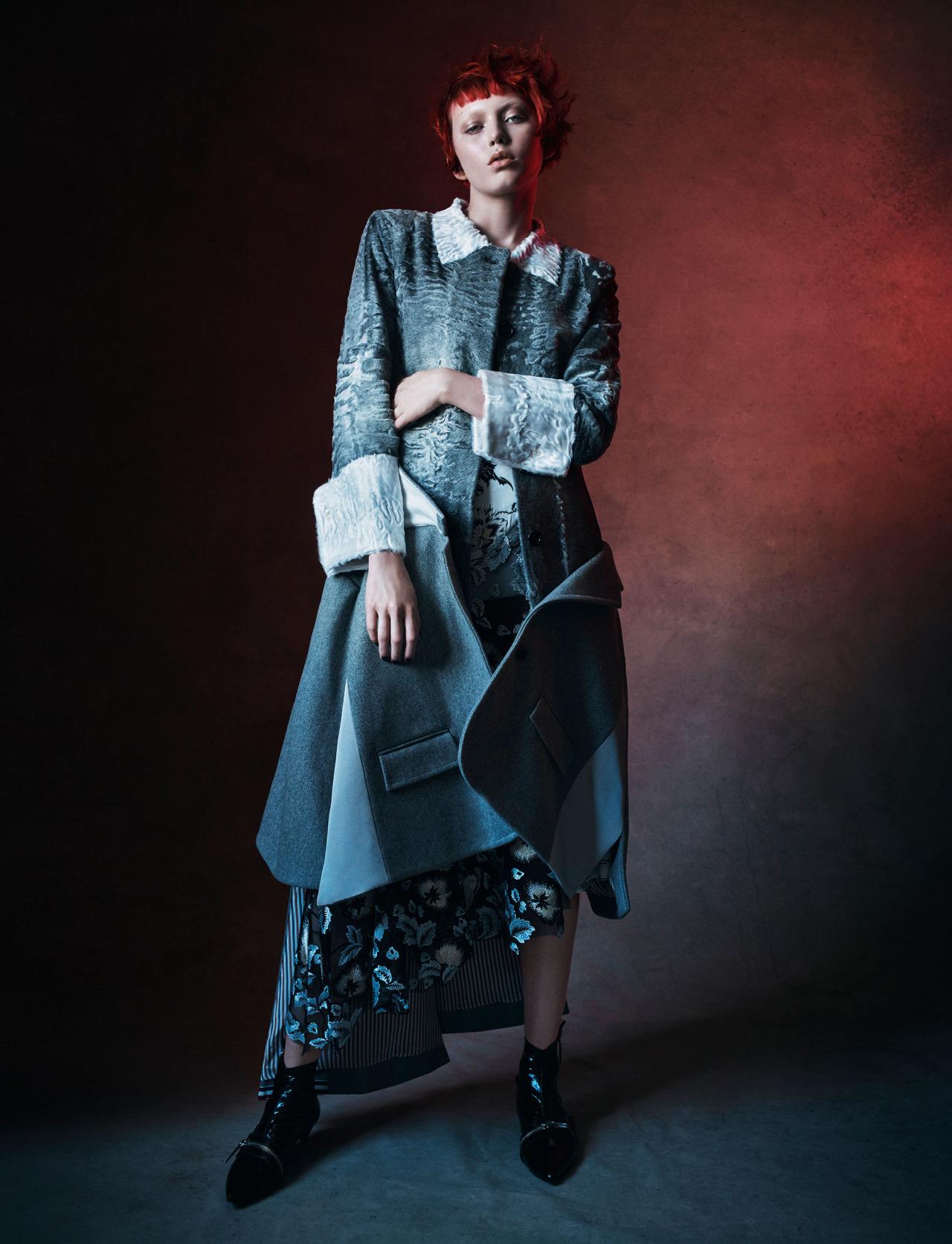 Katherine Moore by Victor Demarchelier / Models.com September 2016