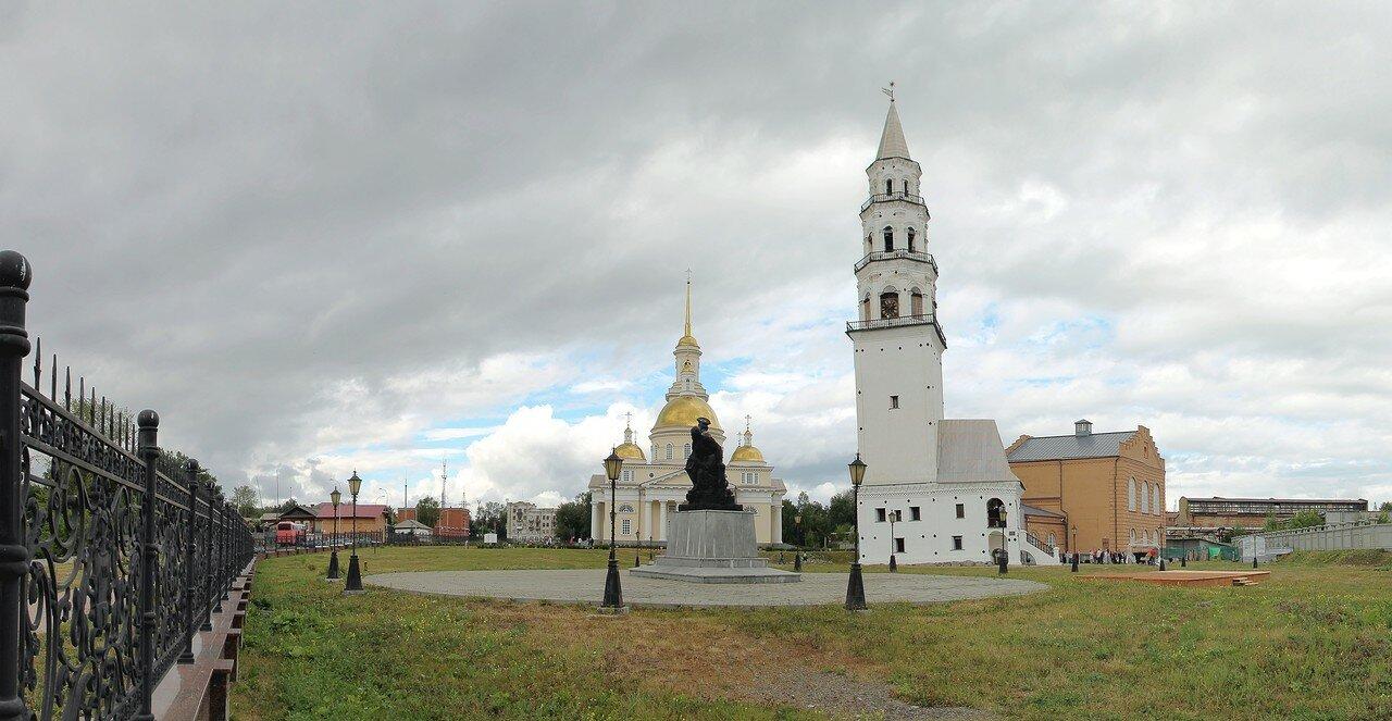 Невьянск. Музейный комплекс. Панорама