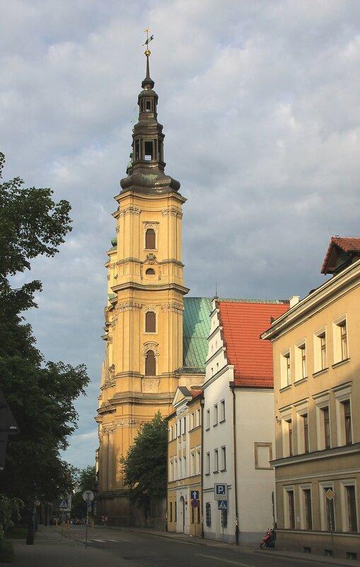 Легница. Костел Святого Иоанна Крестителя (Kosciol sw. Jana Chrzciciela)