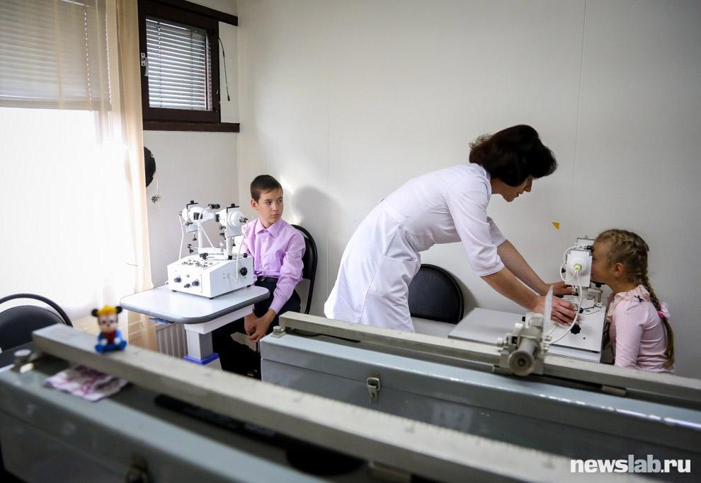 22. Специалистами центра накоплен большой опыт в лечении, сохранении и восстановлении зрения у