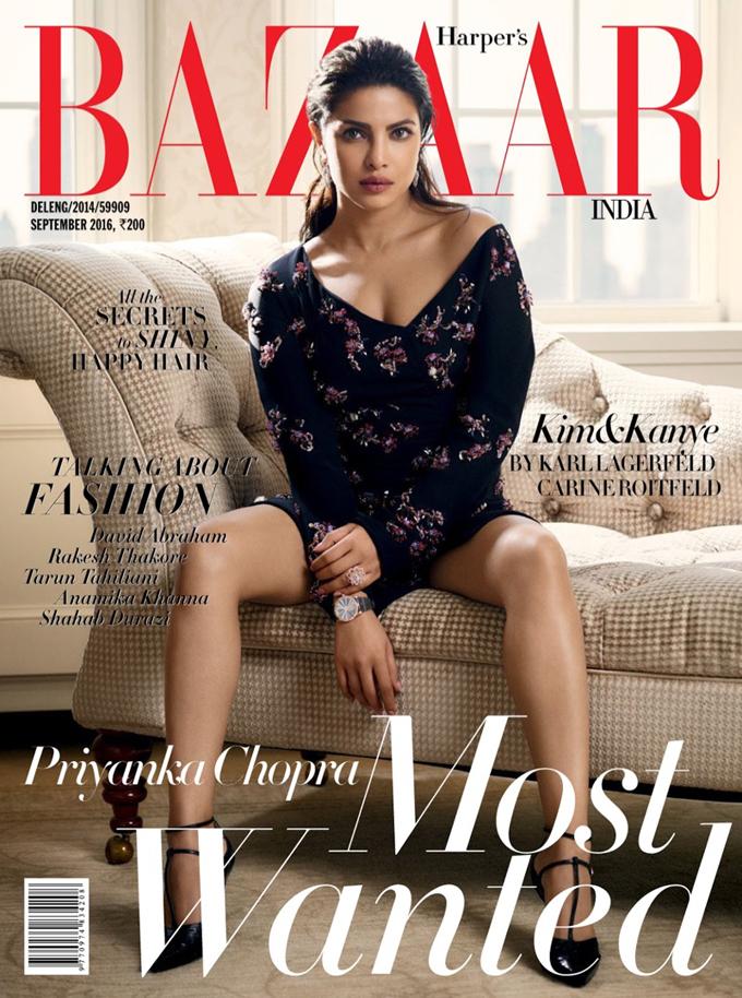 Приянка Чопра в Harper's Bazaar