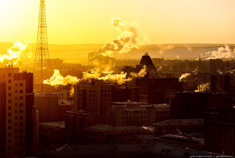 12. Якутск отличается большим количеством озёр в черте города. Одно из самых известных и популя