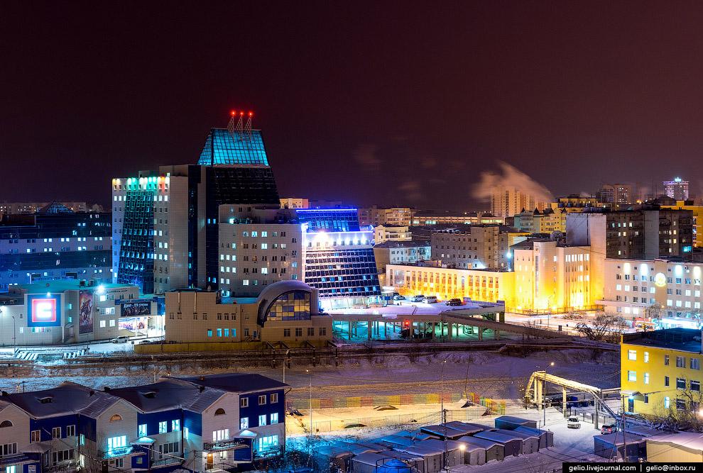 17. В отличие от Республики Саха в целом, в самом Якутске практически нет промышленности, больш