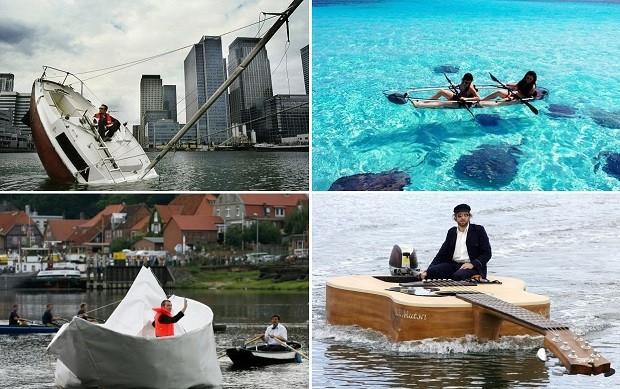 Необычные лодки