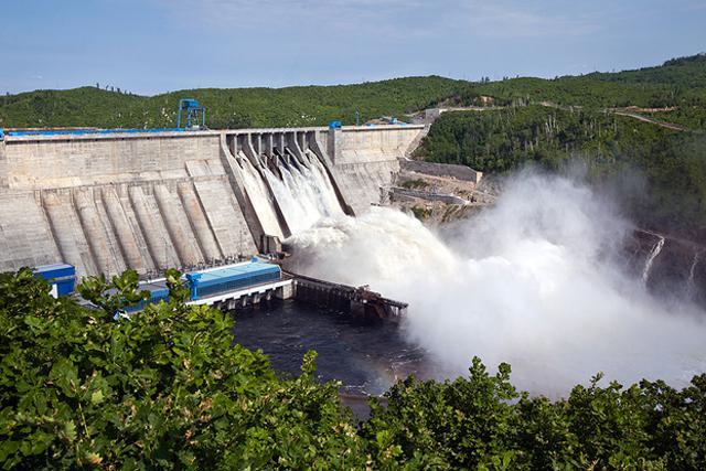 Бурейская ГЭС уменьшит объем холостых сбросов