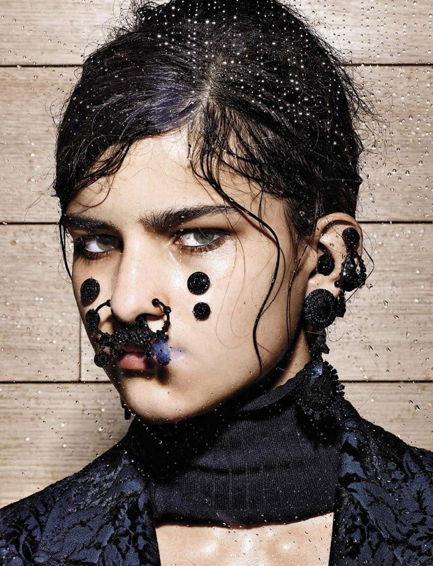 Astrid Holler for Vogue Italia by Richard Burbridge