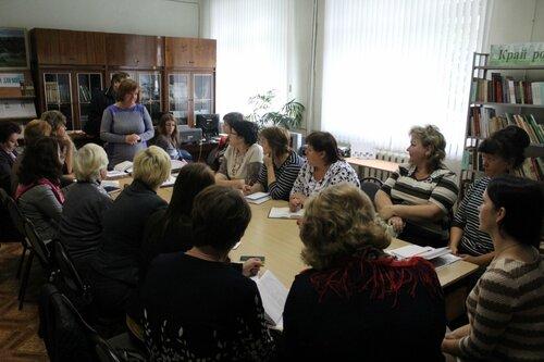 Состоялся семинар работников сельских учреждений культуры городского округа.