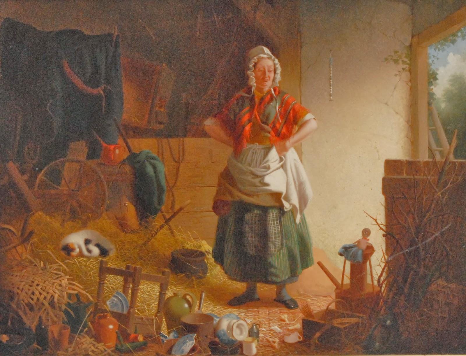5 William Edward Millner - Devastation in the Barn.jpg