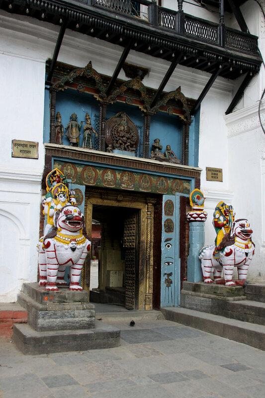 Вход во дворец Хануман Дхока