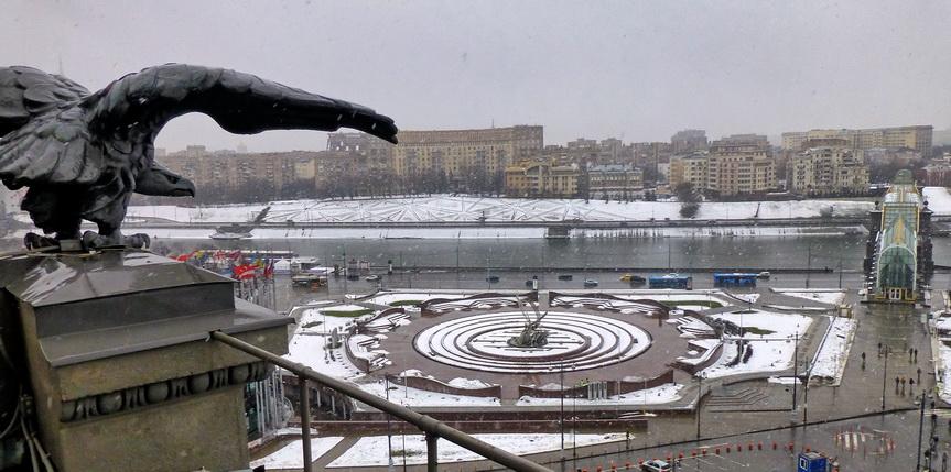 В часовой башне Киевского вокзала после реставрации