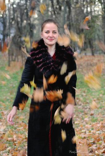Лида танцует вальс-бостон :)