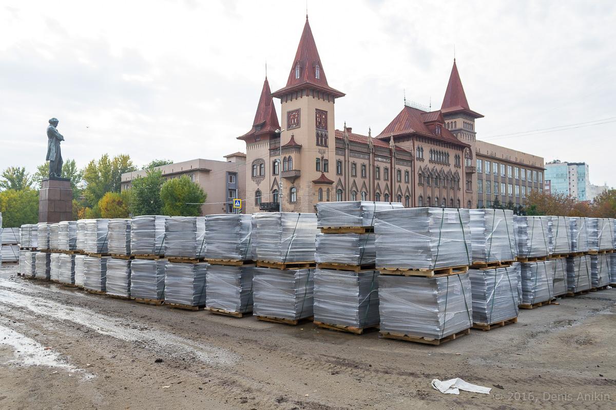 Строительство пешеходной зоны Саратов фото 3