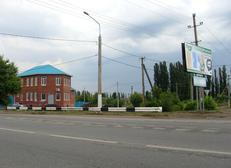 На дороге в центр Краснодара, июль, дождливая погода ...SDC13086.JPG
