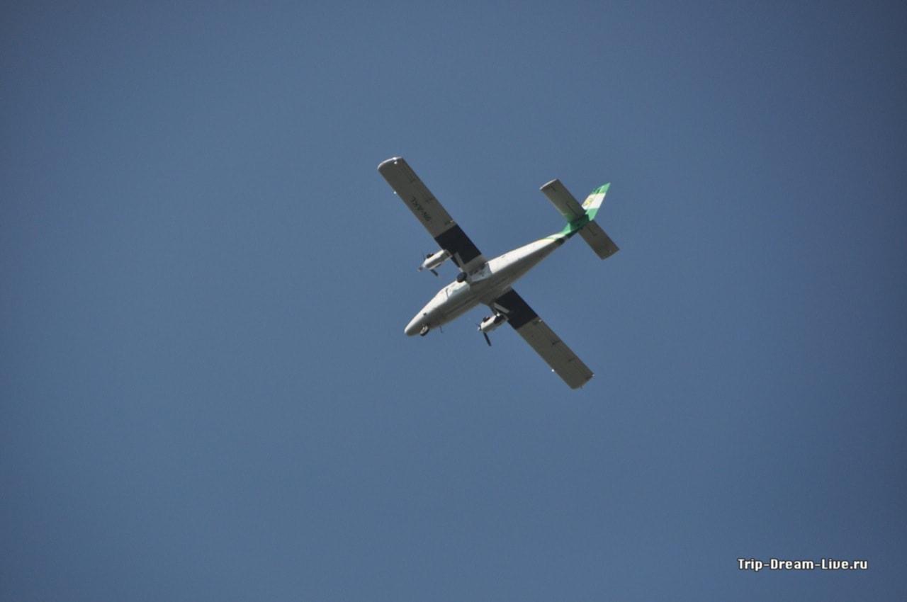 Самолет местных авиалиний