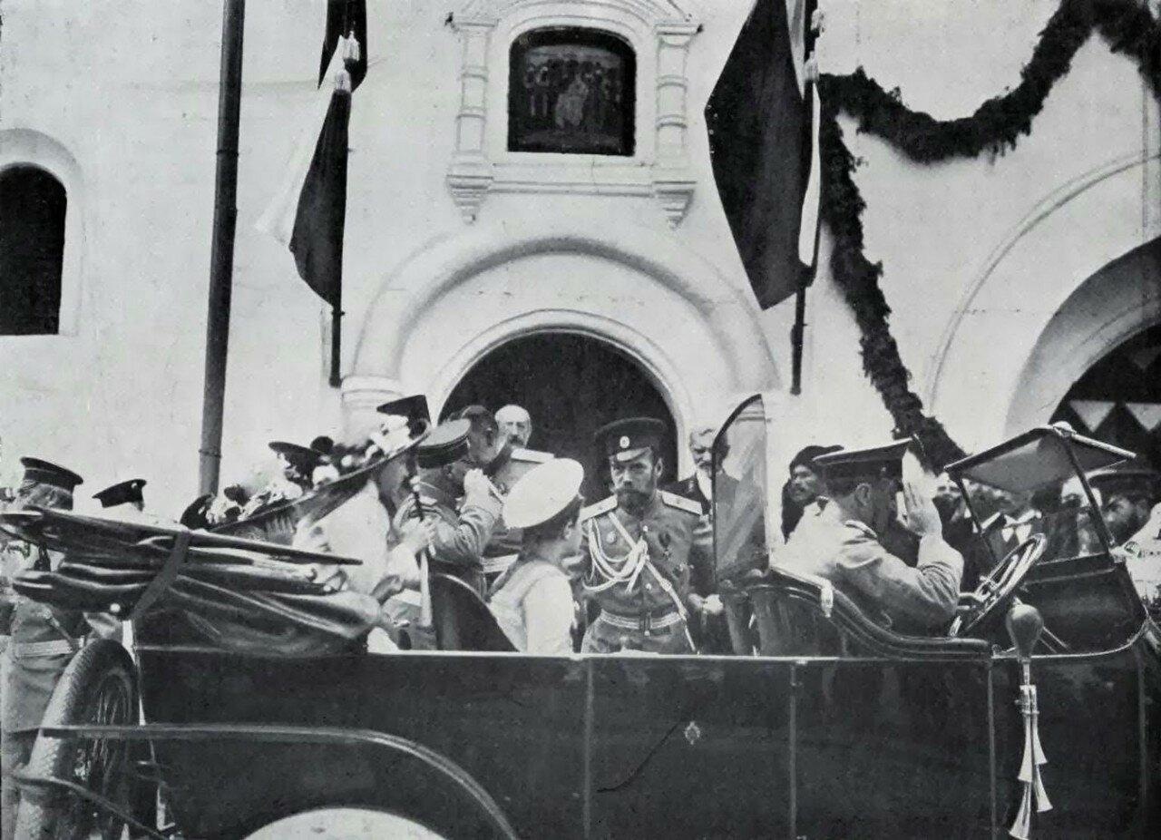 Николай II в Ростовском музее. 1913